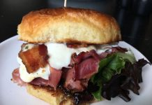 A BLT: DS sandwich at Domaine South in Huntsville