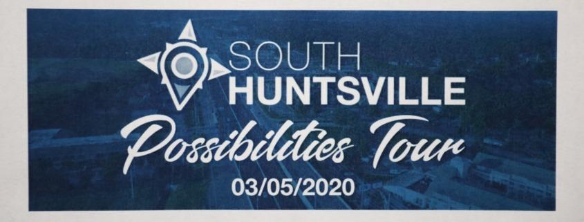 South Huntsville Possibilities Tour sign