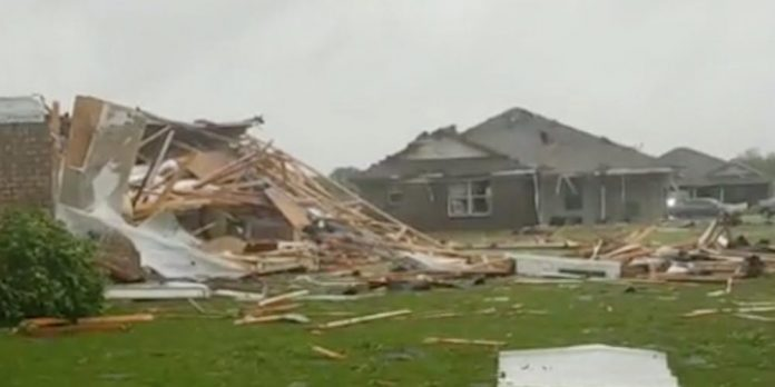 At least 6 people are dead in Mississippi as strong tornadoes and severe storms threaten millions in the South