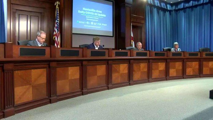 Huntsville leaders issue COVID-19 on Monday