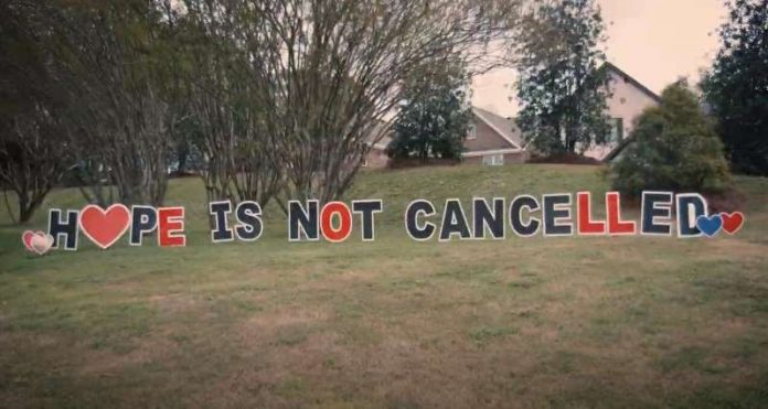 Huntsville/Madison Convention & Visitors Bureau releases 'Hope is Not Cancelled'