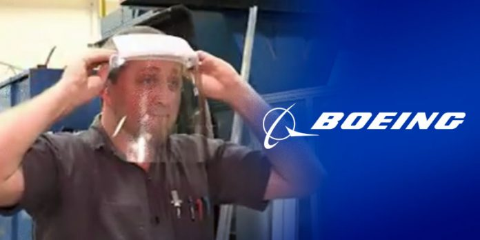 Boeing employees in Huntsville producing face shields for frontline medical professionals