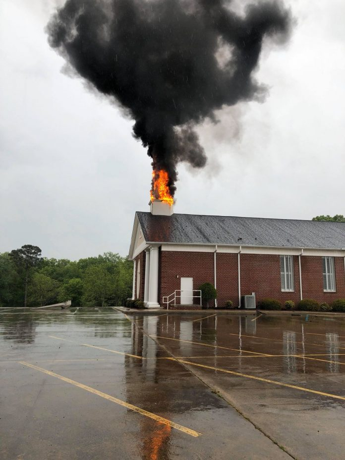 Alabama storms damage multiple churches across state