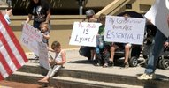 Group in Huntsville holds rally to open the state from coronavirus restrictions