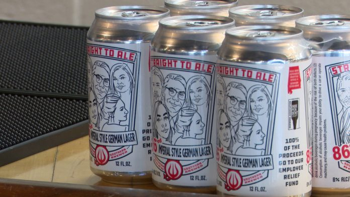 Straight to Ale creates new brew to benefit employee relief fund