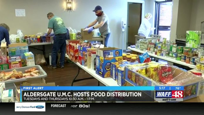 Huntsville church giving free food to local families