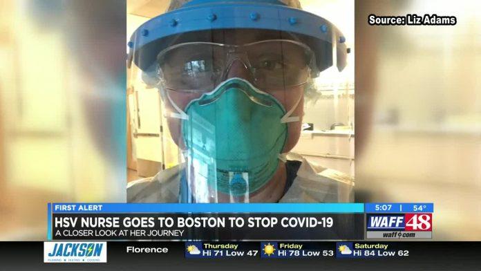 Huntsville nurse goes to Boston to treat COVID-19 outbreak