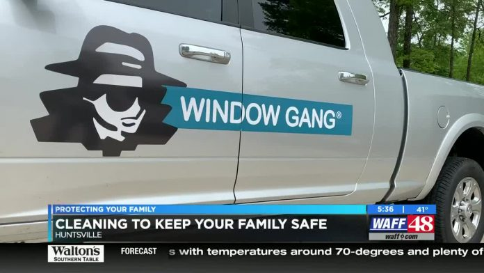 Window cleaning company provides service to keep Coronavirus out of homes, businesses