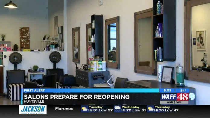 Fringe Salon of Huntsville putting together safety plan for reopening