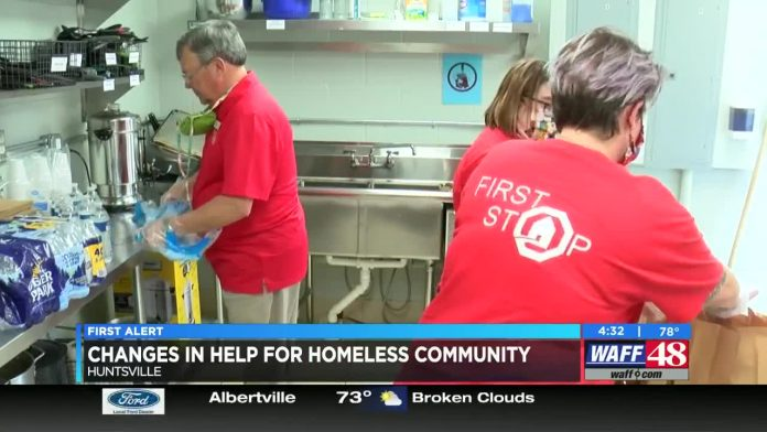 Nonprofits adjusting service, some avoiding homeless camps for social distancing