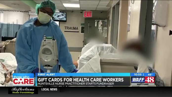 Huntsville nurse practitioner raising money to feed health care workers, patronize local restaurants