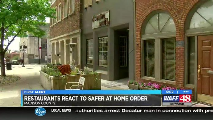 Restaurants react to safer-at-home order
