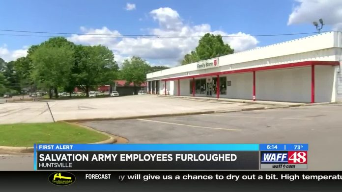 Madison County Salvation Army furloughing employees