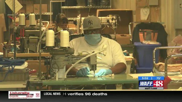 South Huntsville manufacturer making masks for Valley hospitals