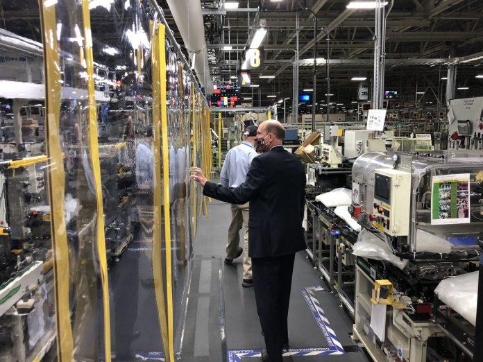 Toyota reconfigures Alabama plant for coronavirus: 'We're having to break everyone's habits'