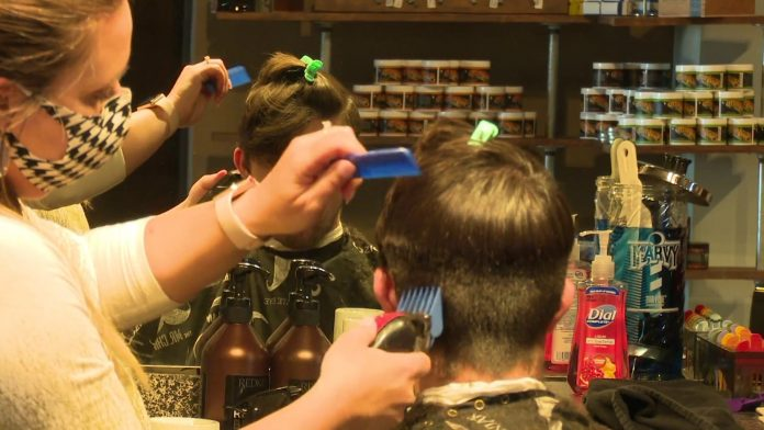 Huntsville full-service salon opening in phases with safety measures