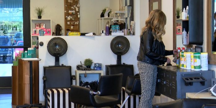 Fringe Salon of Huntsville owner thrilled for reopening