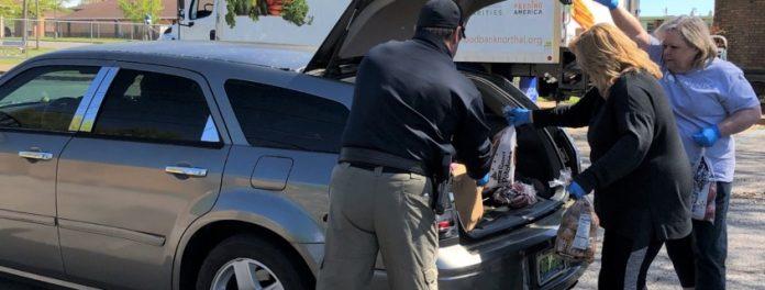 Huntsville Receives Donations from Booz Allen Hamilton Pandemic Resilience Program