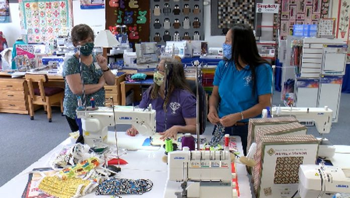 Heritage Quilters of Huntsville sew more than 3,500 masks for the community