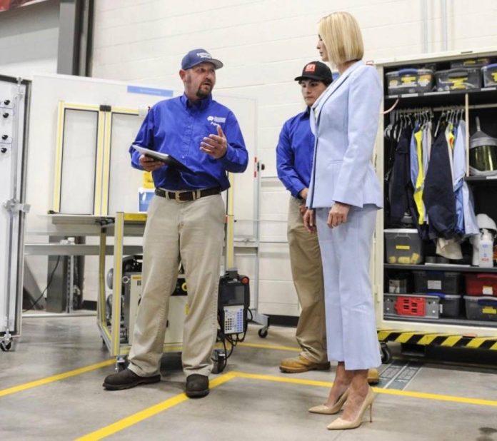 Huntsville Toyota employee honored at White House