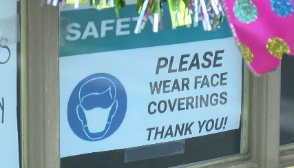 Stores in Huntsville require customers to wear masks
