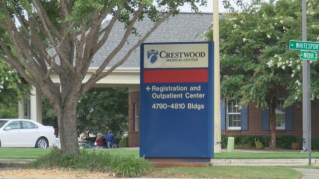 Huntsville's Crestwood Medical Center strictly limits visitation