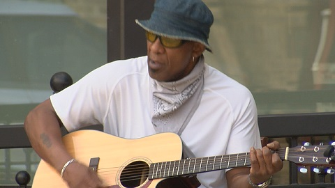 Local musicians start performing again in downtown Huntsville while social distancing