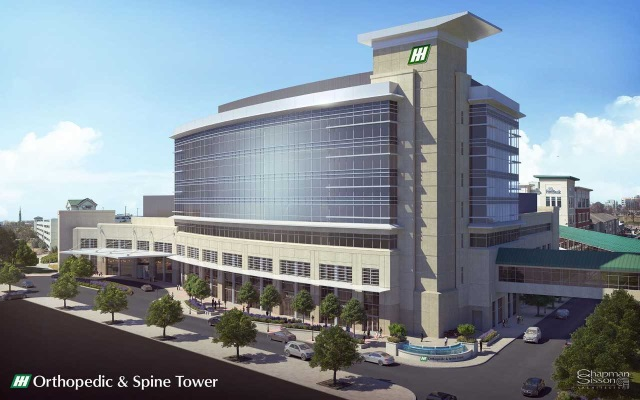Construction stopped at Huntsville Hospital tower after worker tests positive for coronavirus