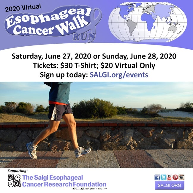 Huntsville, AL: Virtual Esophageal Cancer Walk/Run