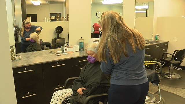 Huntsville hair salon prepares to reopen Tuesday