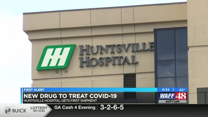 Huntsville Hospital receives first shipment of remdesivir to fight COVID-19