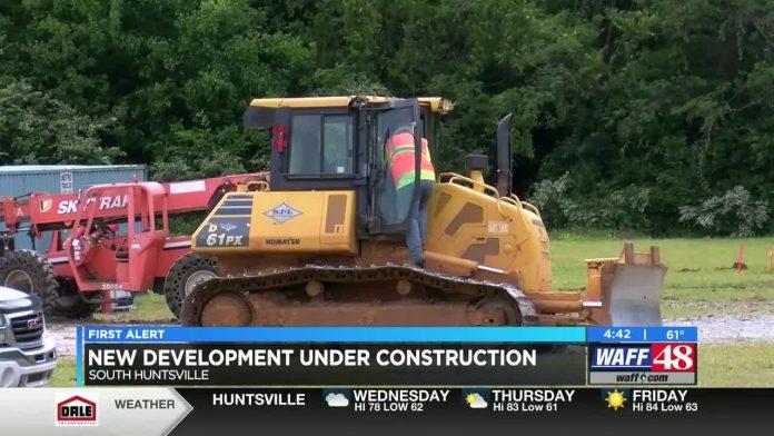 Construction begins on south Huntsville multipurpose development