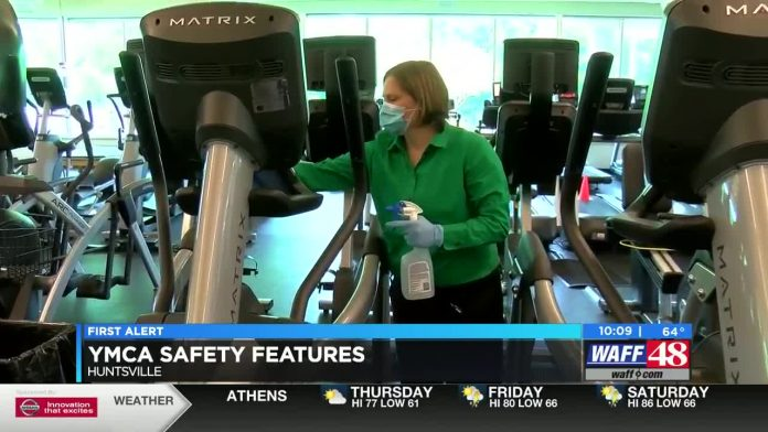 New safety features in place at Huntsville YMCA