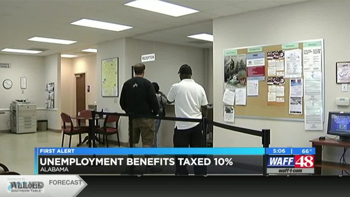 Unemployment benefits taxed in Alabama explained