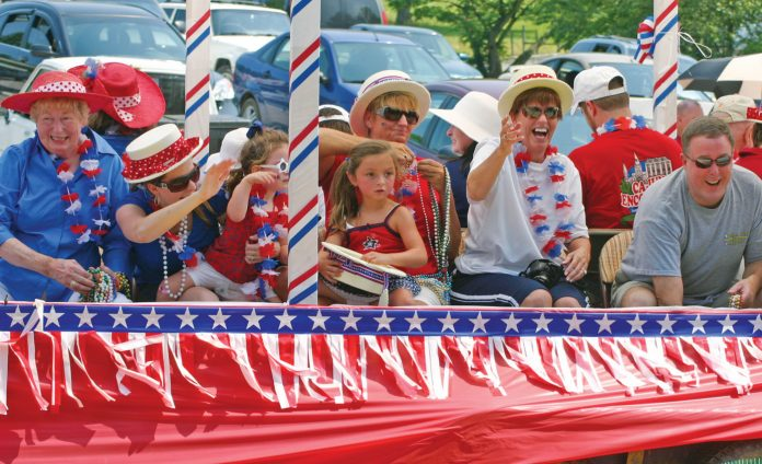 Change of plans: 4th of July parade will be held directly before fireworks