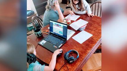 Huntsville mother chooses to homeschool kids because of coronavirus concerns