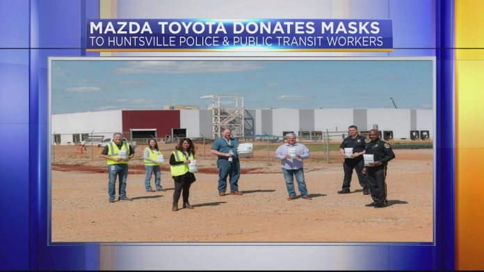 Toyota gives United Way thousands of face shields: How you can give on 'Day of Action'