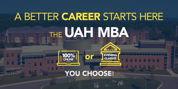 UAH College of Business announces online MBA