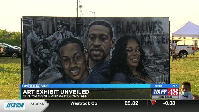 New art exhibit in downtown Huntsville