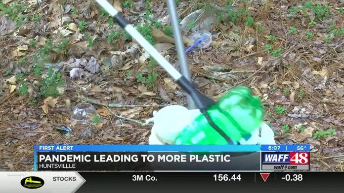 Coronavirus pandemic leads to more single-use plastics