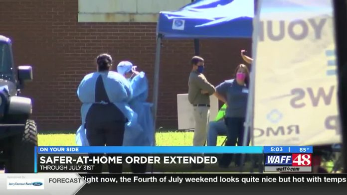 Safer at home order extended; business owners react to the governor's announcement