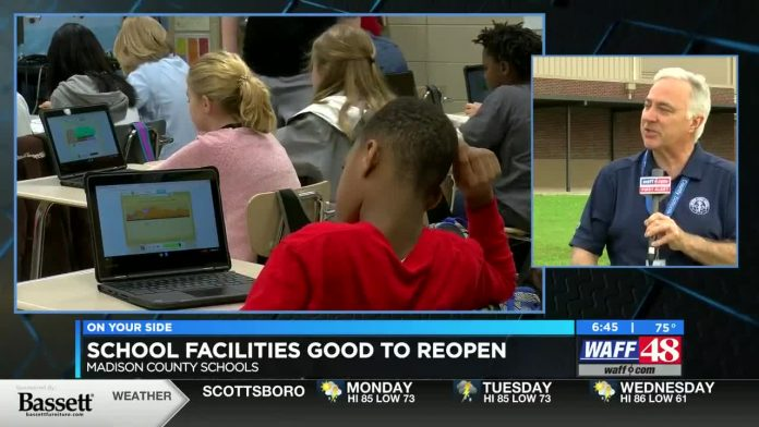 Madison County School system athletes return to practicing, while school leaders prepare for next school year