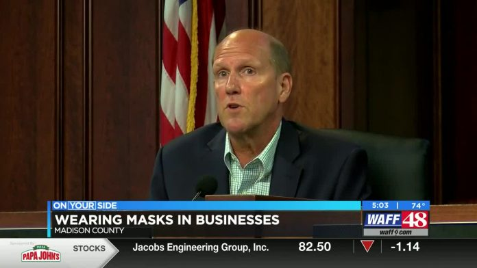 Madison mayor encourages business owners to require masks