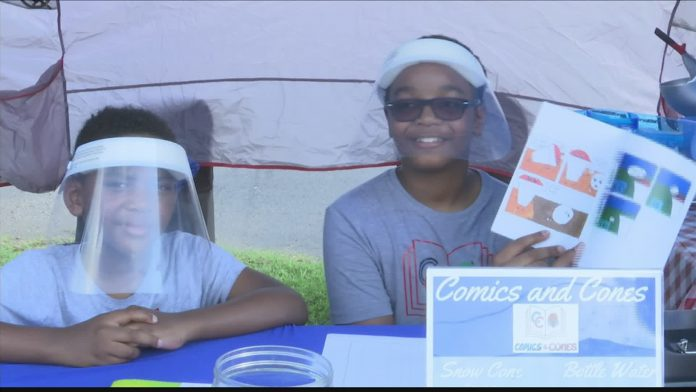 Young Huntsville brothers start their own business,