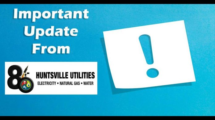 Huntsville Utilities resuming disconnects for non-payment