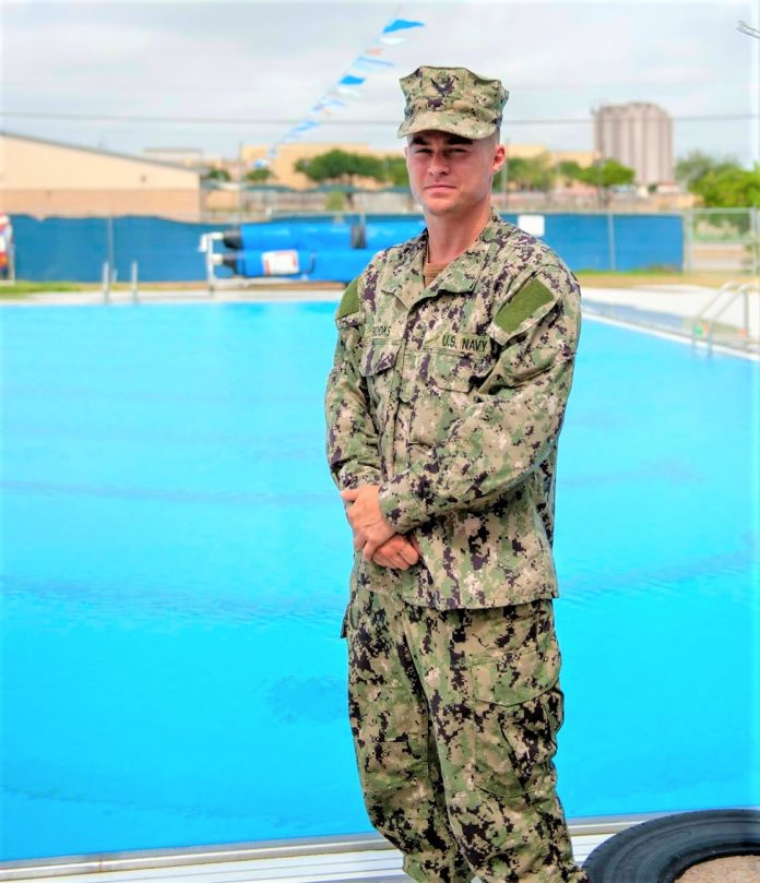 Huntsville native Travis Brooks trains for Navy's fight with COVID-19
