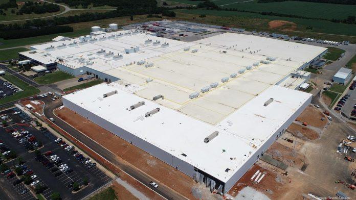 Toyota Alabama hits key milestones for Alabama expansion