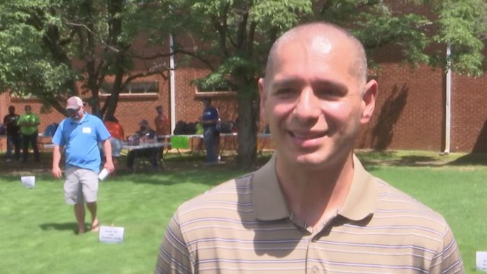 Local church hosts backpack giveaway for families