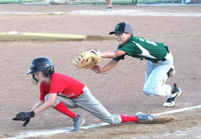 Spartan Cages hold off Huntsville Hive in 12U semifinal
