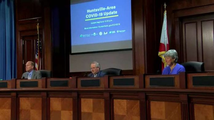 Huntsville officials issue COVID-19 update on Wednesday